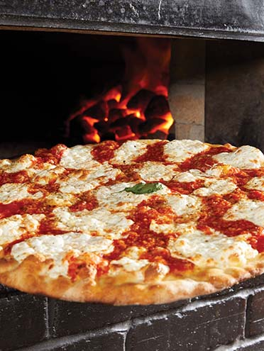 Grimaldis Coal Brick Pizza